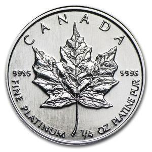 メイプルプラチナコイン 1/4 オンス 1988年|spacein