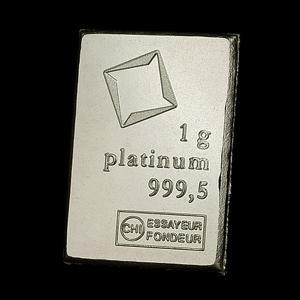 スイス ヴァルカンビ プラチナバー 1g 「金銀の貯金箱」保証書付き|spacein