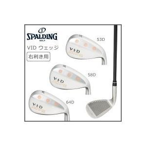 送料無料 SPALDING(スポルディング) VID ウェッジ 右利き用
