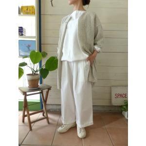 evam eva(エヴァムエヴァ) silk wool robe(E173K039) spacemoo