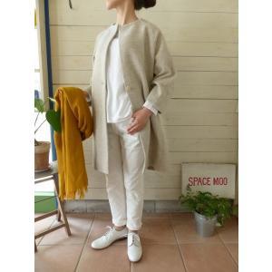 evam eva(エヴァムエヴァ) press wool coat(E173K070) spacemoo