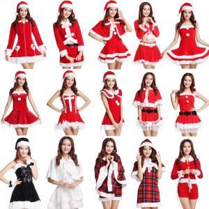 サンタ コスプレ レディース クリスマス サンタクロース バリエーション沢山♪19タイプ コスチューム サンタ衣装/X'masグッズ/ハロウィーン ワンピース イベント