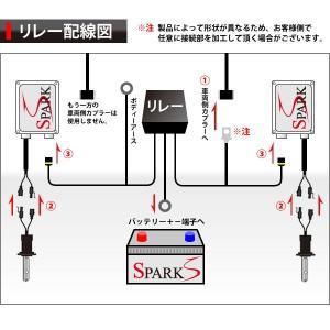 ◆D2C/D2R/D2S 電源強化リレーハーネス◆HID ちらつき防止◆|spark-inc|04