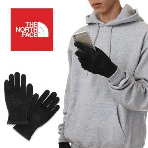 ノースフェイス 手袋 スマホ対応 メンズ THE NORTH FACE イーチップ グローブ ETIP KNIT GLOVES 防寒 軽量 スマートフォン対応 USAモデル ブランドの画像