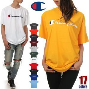 チャンピオン Tシャツ メンズ レディース CHAMPION ビッグT USAモデル ロゴ 半袖 T...