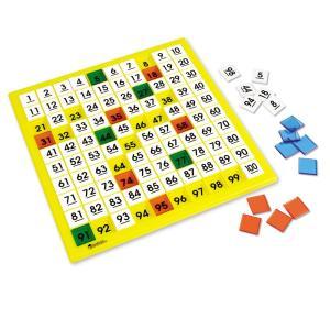 Hundreds Number Board 算数教材 数字ボード 100 マスボード|spec-ssstore