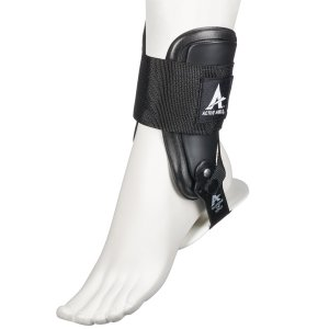 Active Ankle T2 Rigid Ankle Brace-M-Black by Active Ankle|spec-ssstore