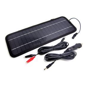 車載用ソーラーバッテリーチャージャー 車のバッテリー上がり防止に!12V車用 出力4.5W FMTSO1000 spec-ssstore