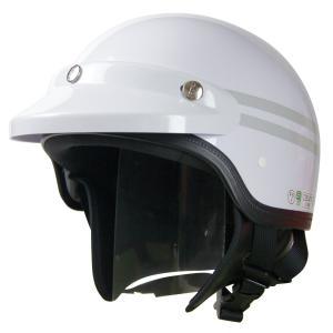 ヘルメットMACH(マッハ) AJ-80ホワイト・シルバー反射付(2本入り) AJ-80S2 spec-ssstore