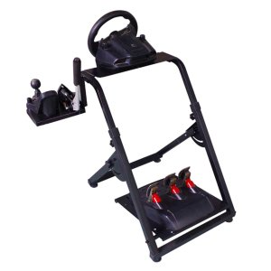 Dshot Foldable Racing Wheel Stand レーシングホイールスタンド ギアシフター用マウント セット ロジクール G920 G27 G25 Thrustmaster T500RS spec-ssstore