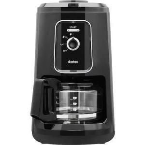 ドリテック(dretec) 全自動コーヒーメーカー「ブエノカフェ」2段階調整 自動保温機能 CM-200BK spec-ssstore