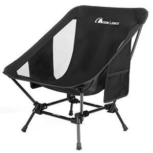 Moon Lence アウトドアチェア 2wayローチェア より安定 キャンプ椅子 グランドチェア 軽量 折りたたみ コンパクト ハイキング お釣り 登山 耐荷重150kg spec-ssstore