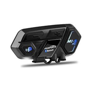 FODSPORTS インカム バイクインカム M1-S Pro 8riders 8人同時通話 bluetooth インターコム ヘッドセット バイク無線機 防水インカム バイク用ヘッドセット 2種 spec-ssstore