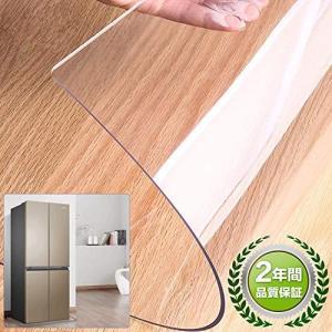 冷蔵庫 マット キズ防止 凹み防止65*70cm, 冷蔵庫マット 床保護シート 環境に優しい素材 透明,無臭、収縮なし、厚さ2mm,正規 (Mサイズ 65×70cm 〜500Lクラス|spec-ssstore