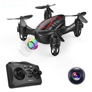 DROCON ドローン HDカメラ付き 720P画質 クアッドコプター ヘッドレスモード 3D宙返り...
