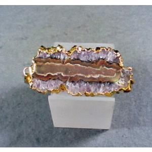 アメシストアゲードのスライス・ペンダントトップblapiz-0069-01|specimen-lapiz