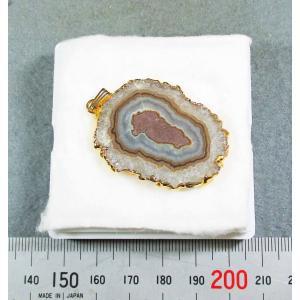 アメシストアゲードのスライス・ペンダントトップblapiz-0069-03|specimen-lapiz