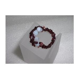 ブルーレースとピンクトルマリンのリング(指輪)14号|specimen-lapiz