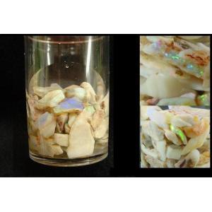 天然オパール原石ビン入り|specimen-lapiz