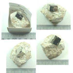パイライト(黄鉄鉱)スペイン2017 specimen-lapiz