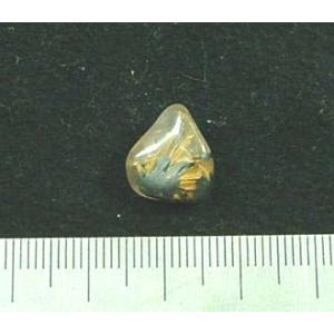 ルチルクオーツミニタンブル809 specimen-lapiz