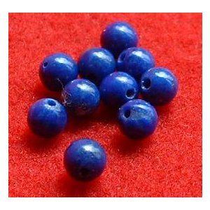ラピスラズリ4ミリ玉バラ売り specimen-lapiz