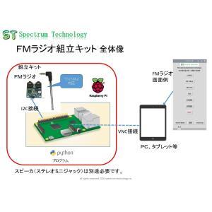 FMラジオ組立キット spectrum-tech-y