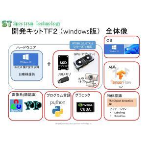 顔認識・物体認識用AI開発キット(TF2):windows11版 spectrum-tech-y