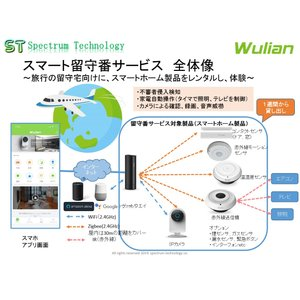 スマート留守番サービス:標準セット(レンタル)|spectrum-tech-y