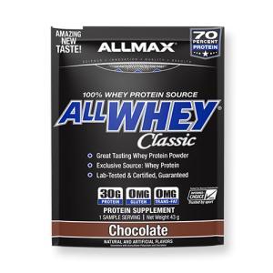 訳あり 消費期限間近 ALLWHEY CLassic オールホエイクラシック チョコレート 1回分 43g ALLMAX オールマックス|speedbody