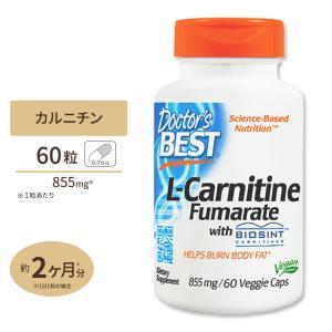 L-カルニチンフマル酸 885mg 60粒 Doctor's BEST ドクターズベスト|speedbody