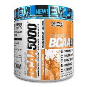 BCAA 5000 ピーチレモネード 279g 9.8oz 《約30回分》EvLution Nutrition エボリューションニュートリション speedbody