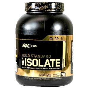 [NEW] ゴールドスタンダード 100%アイソレート リッチバニラ 2.28kg(5.03lbs)76回分 Optimum Nutrition(オプチマムニュートリション)|speedbody