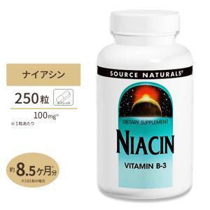 ナイアシン ビタミンB-3 250粒 SOURCE NATURALS (ソースナチュラルズ)|speedbody