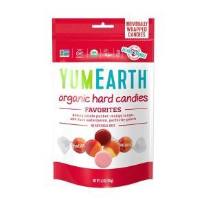 YumEarth オーガニックハードキャンディー フルーツ 3.3 oz (93.5 g)