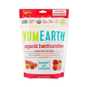 オーガニックハードキャンディー フルーツ 368.5 g YumEarth (ヤムアース)