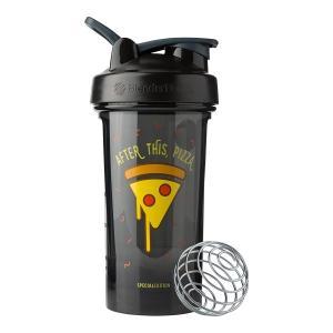 Blender Bottle ブレンダーボール付きシェイカー 700ml(24oz)ピザ柄(ブレンダーボトル)|speedbody