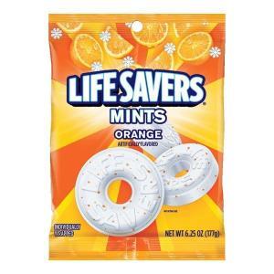 【在庫一掃セール】LIFE SAVERS ミンツ オレンジミント 177g 6.25oz|speedbody