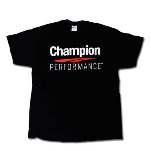 T-Shirt Black XL チャンピオン Champion Performance Tシャツ トレーニングウェア 普段着 speedbody