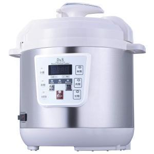 D&S 家庭用マイコン電気圧力鍋  専用レシピブック付き 2.5L STL-EC30