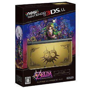 Newニンテンドー3DS LL ゼルダの伝説 ムジュラの仮面 3D パック (Amazon限定オリジナルポストカード(24枚セット)付)|speedwagon