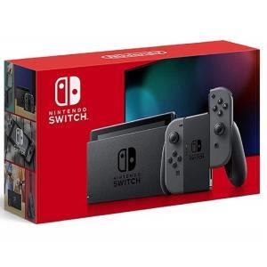 【新品】1週間以内発送 Nintendo Switch 本体 (ニンテンドースイッチ) Joy-Con(L)/(R) グレー(バッテリー持続時間が長くなったモデル) 任天堂 ゲーム機|speedwagon