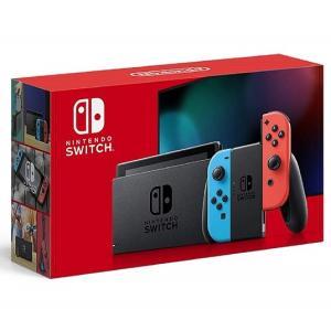 【新品】1週間以内発送 Nintendo Switch 本体 (ニンテンドースイッチ) Joy-Con(L) ネオンブルー/(R) ネオンレッド (バッテリー持続時間が長くなったモデル)|speedwagon