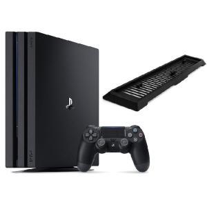 【新品】【即納】PlayStation 4 Pro ジェット・ブラック 1TB (CUH-7100BB01)アンサー 縦置きスタンド付|speedwagon