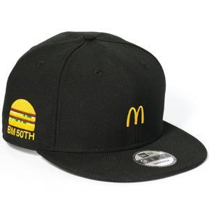 【新品】【即納】マクドナルド × NEW ERA 限定モデル マクドナルド 帽子 キャップ