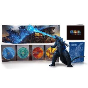 【新品】2019年12月18日頃入荷!ゴジラ キング・オブ・モンスターズ 完全数量限定生産4枚組/S.H.MonsterArts GODZILLA[2019] Poster Color Ver. 同梱 Blu-ray
