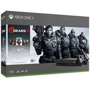 【新品】【即納】Xbox One X (Gears 5、Gears of War 1,2,3,4 ダ...