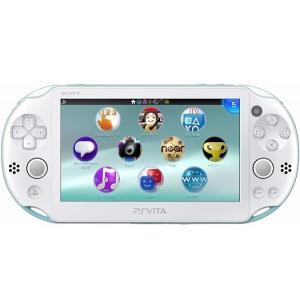【新品】【即納】PlayStation Vita Wi-Fiモデル ライトブルー/ホワイト (PCH-2000ZA14) 本体 ソニー|speedwagon