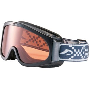 AXE アックス  ジュニア ウインタースポーツ用ゴーグル スキー・スノーボード AX220WD ブラック|spg-sports