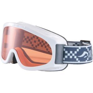 AXE(アックス) ジュニア ウインタースポーツ用ゴーグル スキー・スノーボード AX220WD ホワイト|spg-sports